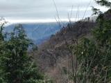 スーパー林道から見た笠丸山